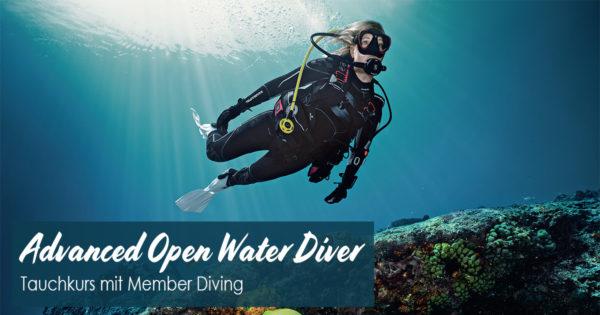 Advanced Open Water Diver Tauchkurs mit Member Diving
