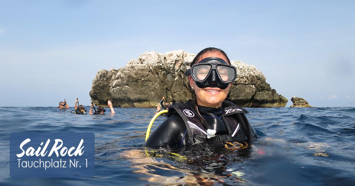 Sail Rock – Der Tauchplatz Nr. 1 im Golf von Thailand