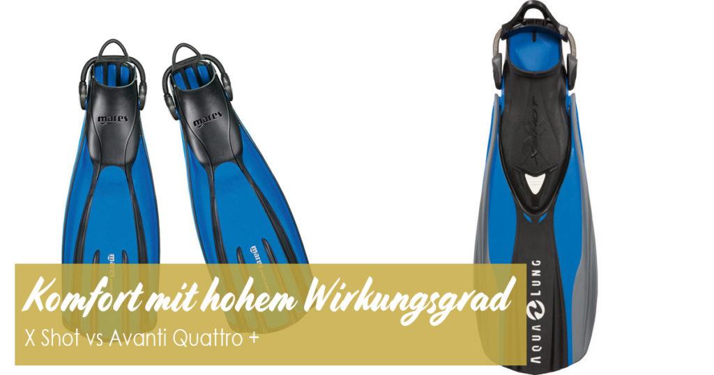 Komfort mit hohem Wirkungsgrad X Shot vs Avanti-Quattro +