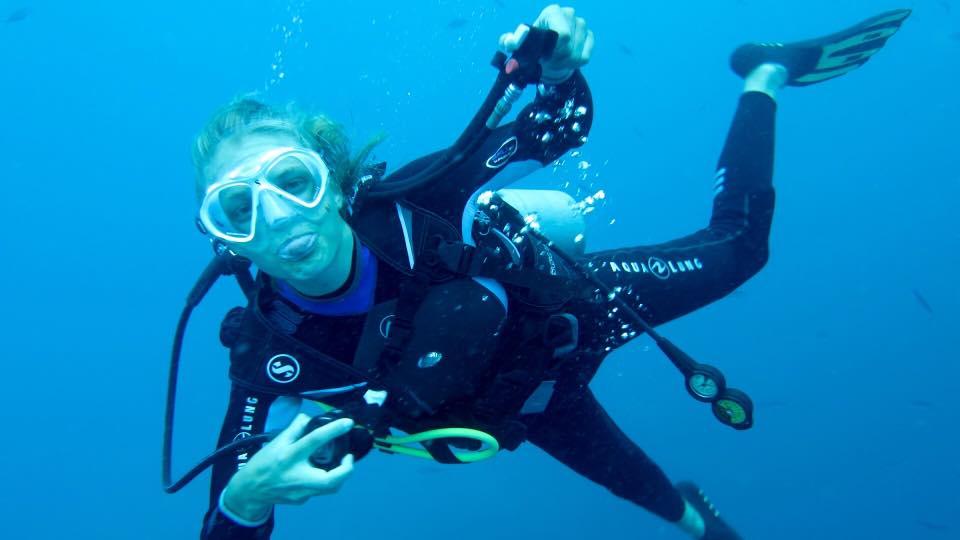 Fun mit Member Diving