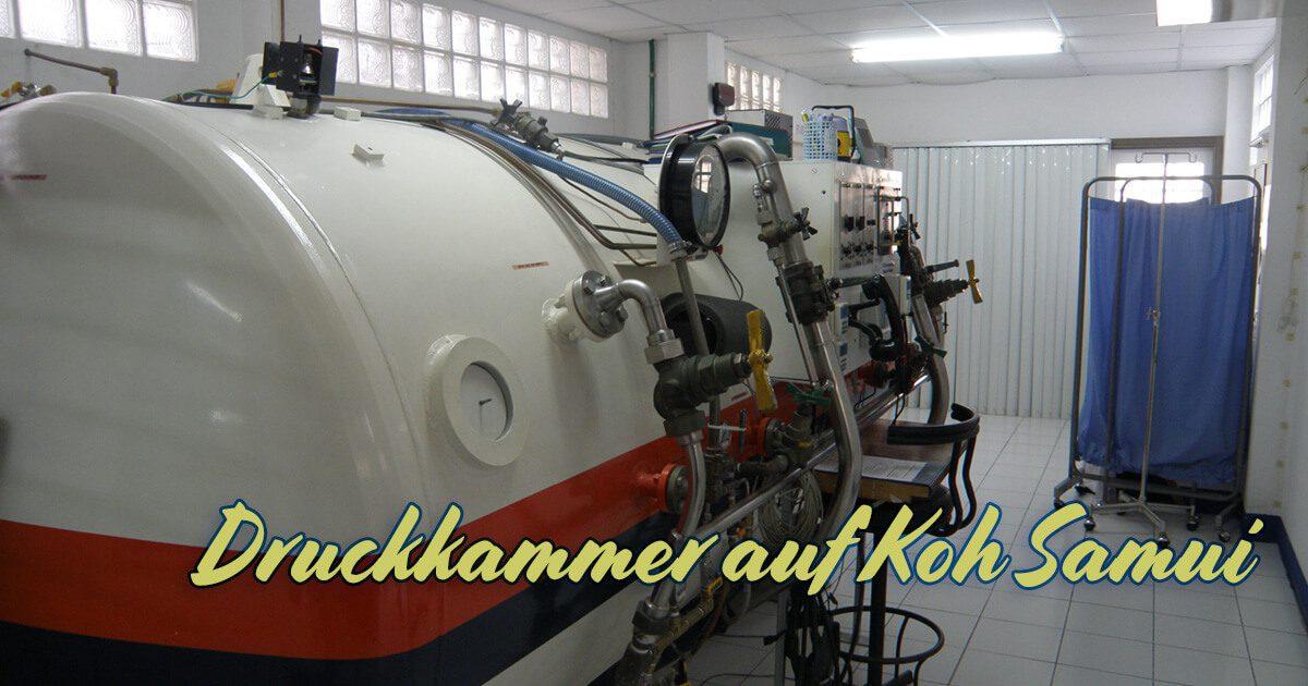 Druckkammer auf Koh Samui