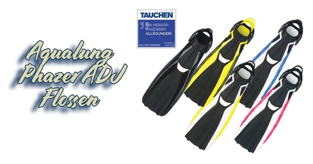 Neue Flossen: Phazer ADJ von Aqualung