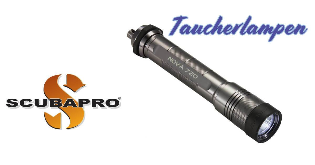 Taucherlampen – Novalight 720 von Scubapro