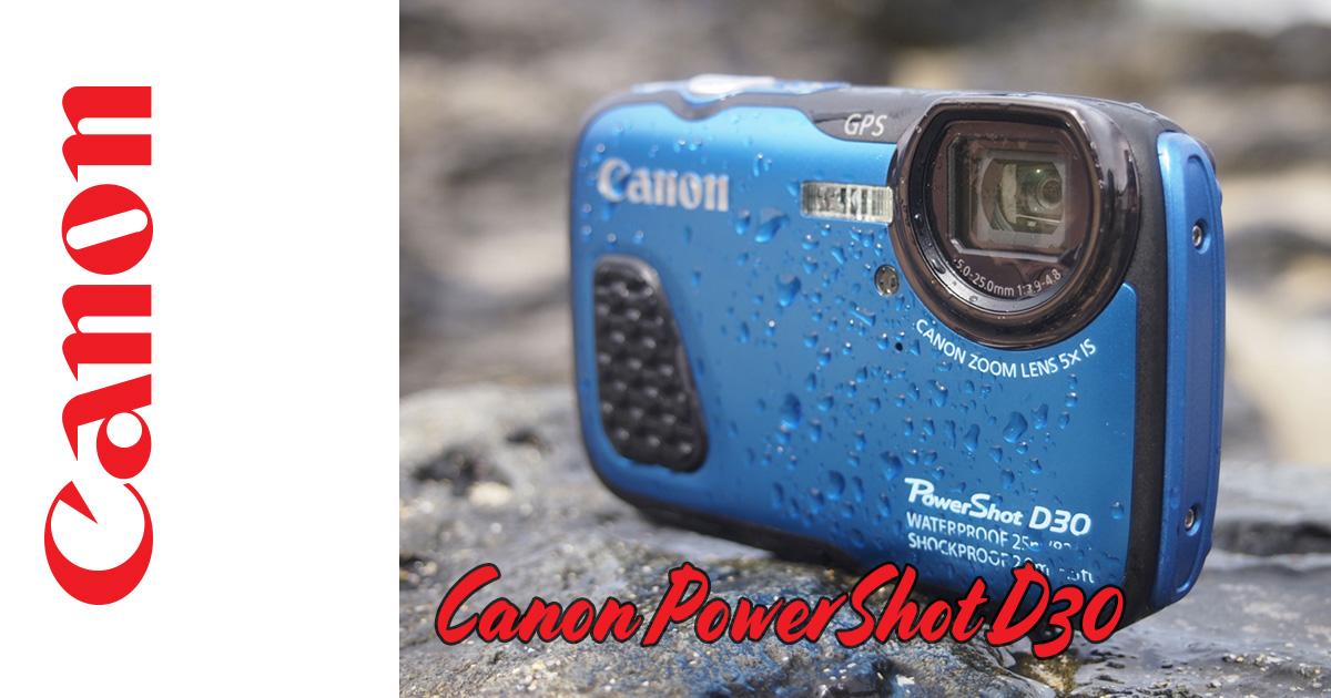 PowerShot D30 – für aufregende Unterwasseraufnahmen
