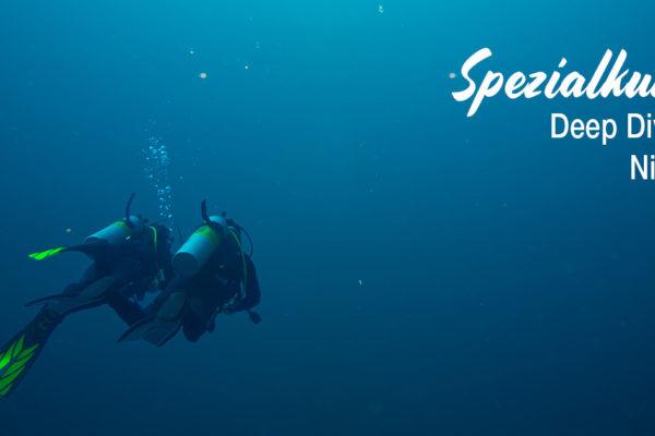 Spezialkurse - Deep Diving und Nitrox
