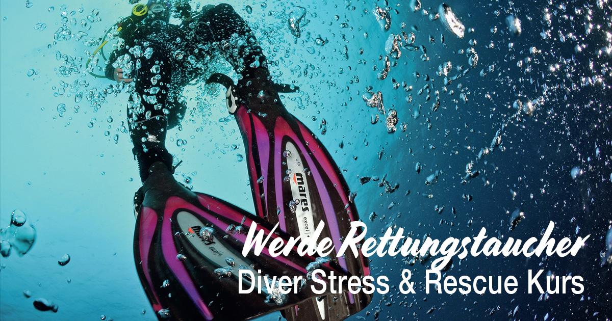 Werde Rettungstaucher, mach den Diver Stress & Rescue Kurs