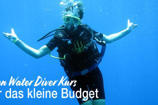 Open Water Diver für das kleine Budget